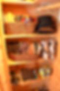 Organized Barn Closet