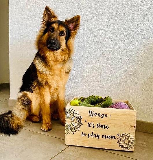 Woof Box - Caisse à jouets