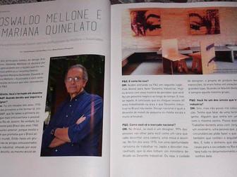 Entrevista para a Revista Casa Projeto & Estilo