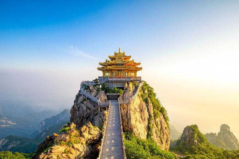 Laojun Mountain, Luoyang, Chinese Taoist