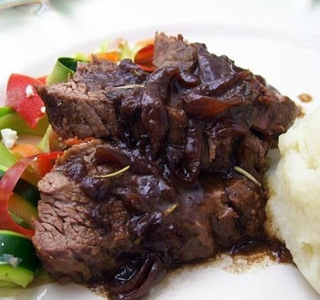 Brisket With Red Onion Jam