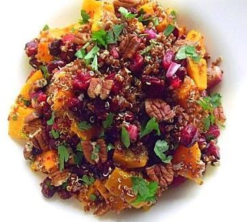 Spicy Roast Butternut Salad