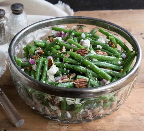 Nutty Green Bean Salad