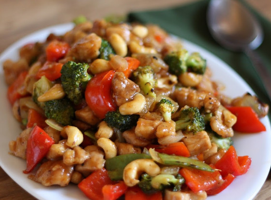 Chicken, Veg & Cashew Stir Fry