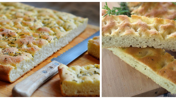 No-Knead 4-Ingredient Foccacia