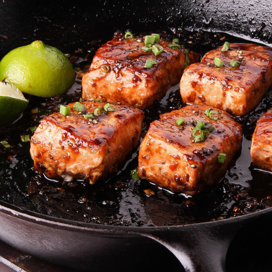 Honey & Ginger Spiced Salmon