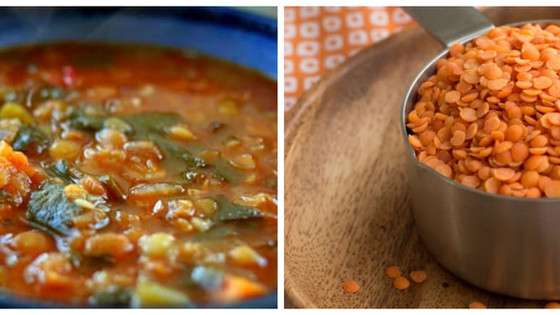 Slimming Lentil Vegetable Soup