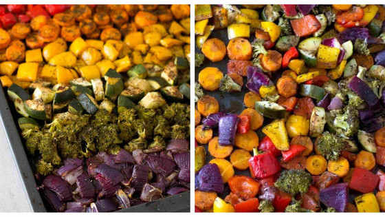 Rainbow Roast Vegetable Medley