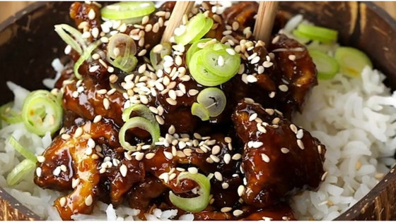 Sweet & Sticky Teriyaki Mushroom Stir Fry