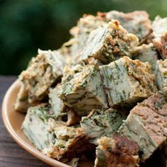 Pesach Spinach & Mushroom Quiche