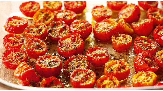Overnight Caramelized Tomatoes