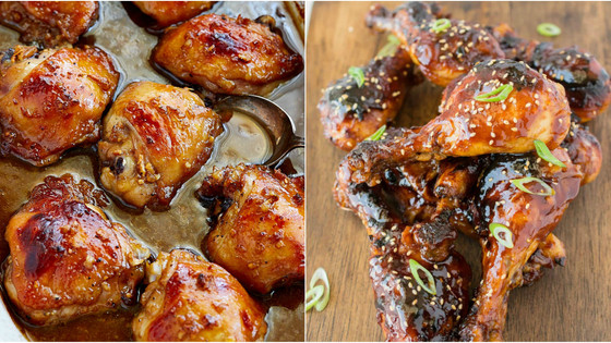 Ultimate Sticky Baked Chicken