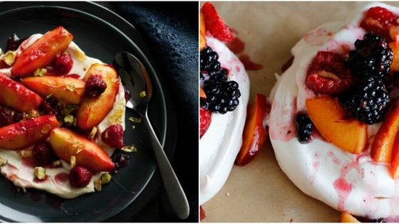 Sublime Nectarine & Berry Compote