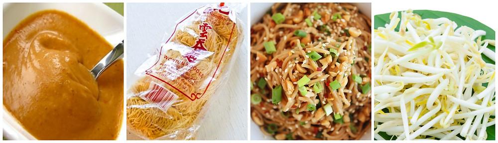 Easiest Satay Noodles