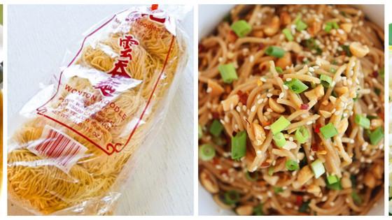 Versatile Satay Noodle Stir-Fry