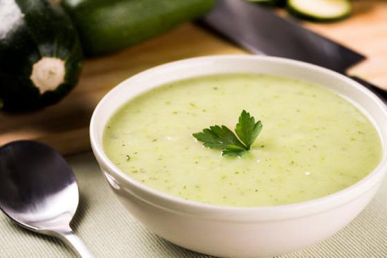 Silken Potato Zucchini Soup