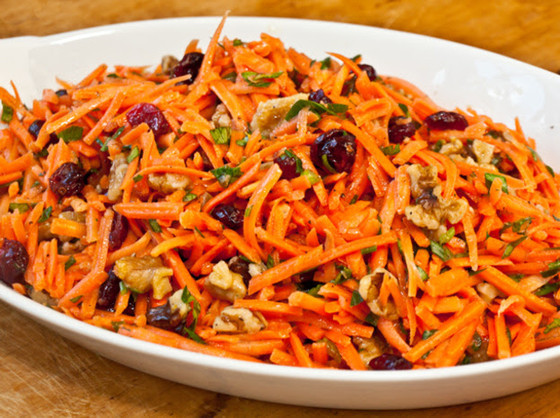 Carrot, Cranberry & Pecan Salad