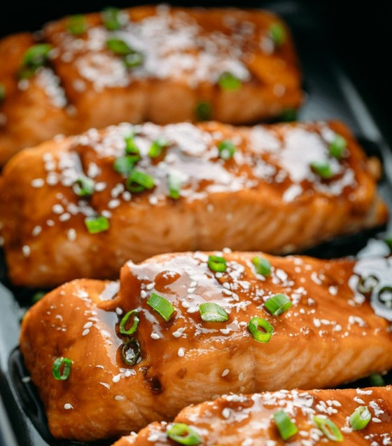 Soy & Honey Baked Salmon