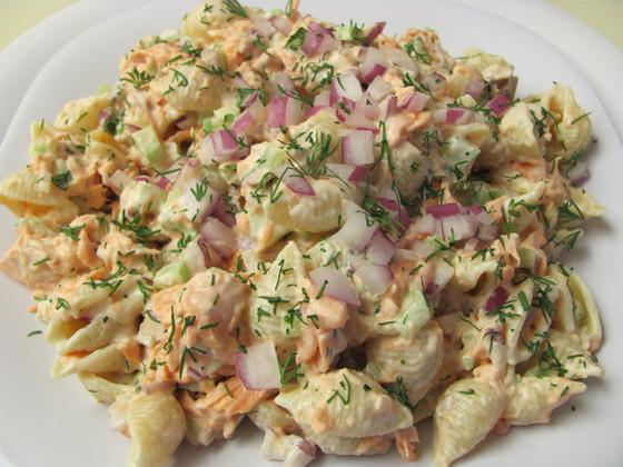 Sumptuous Salmon Pasta Salad