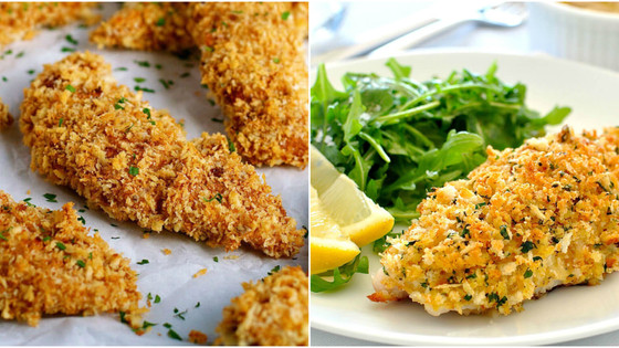 Oven Baked Crumbed Fish