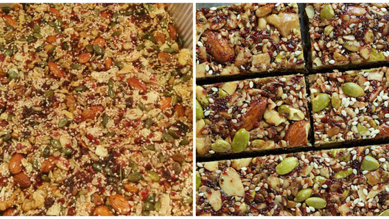 Addictive Fruited Energy Bars