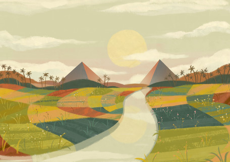 Egypt concept art