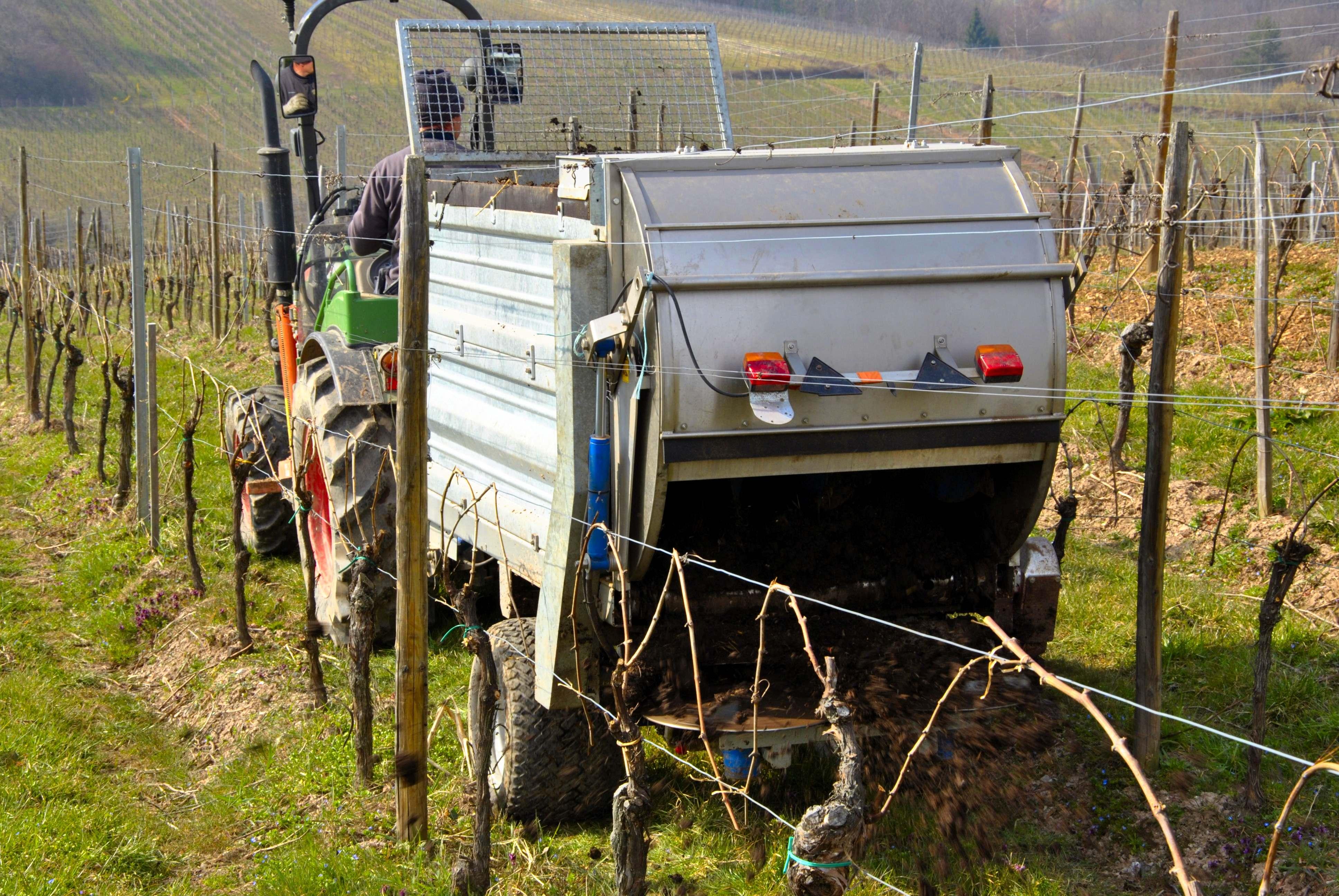 Epandage compost