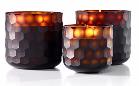 ONNO Candle Circle amber