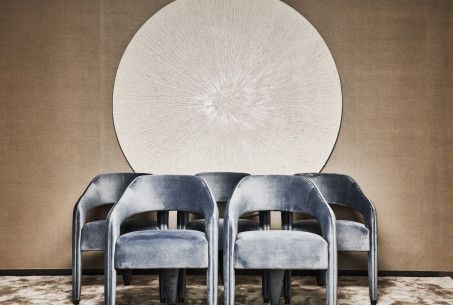 ERIC KUSTER dining chairs