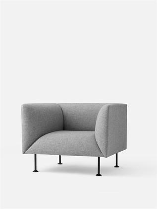 MENU Godot 1 Seater Grey Melange
