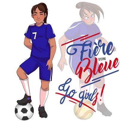 Fière d'être bleue