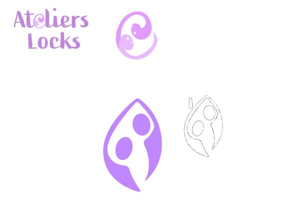 Proposition de logo pour la Youtubeuse Mily (Atelier locks))