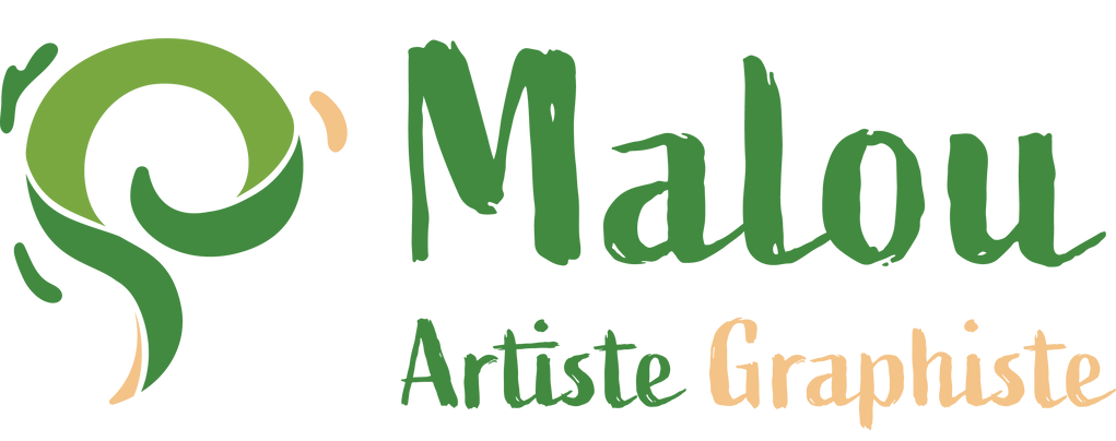 Logo - Malou Illustratrice