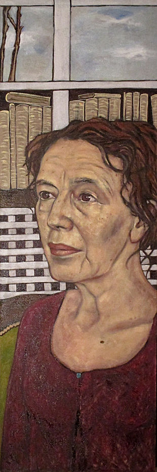 Claire Tomalin National Portrait Gallery