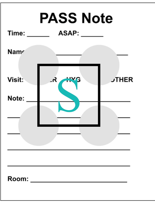 PASS Notes Printable