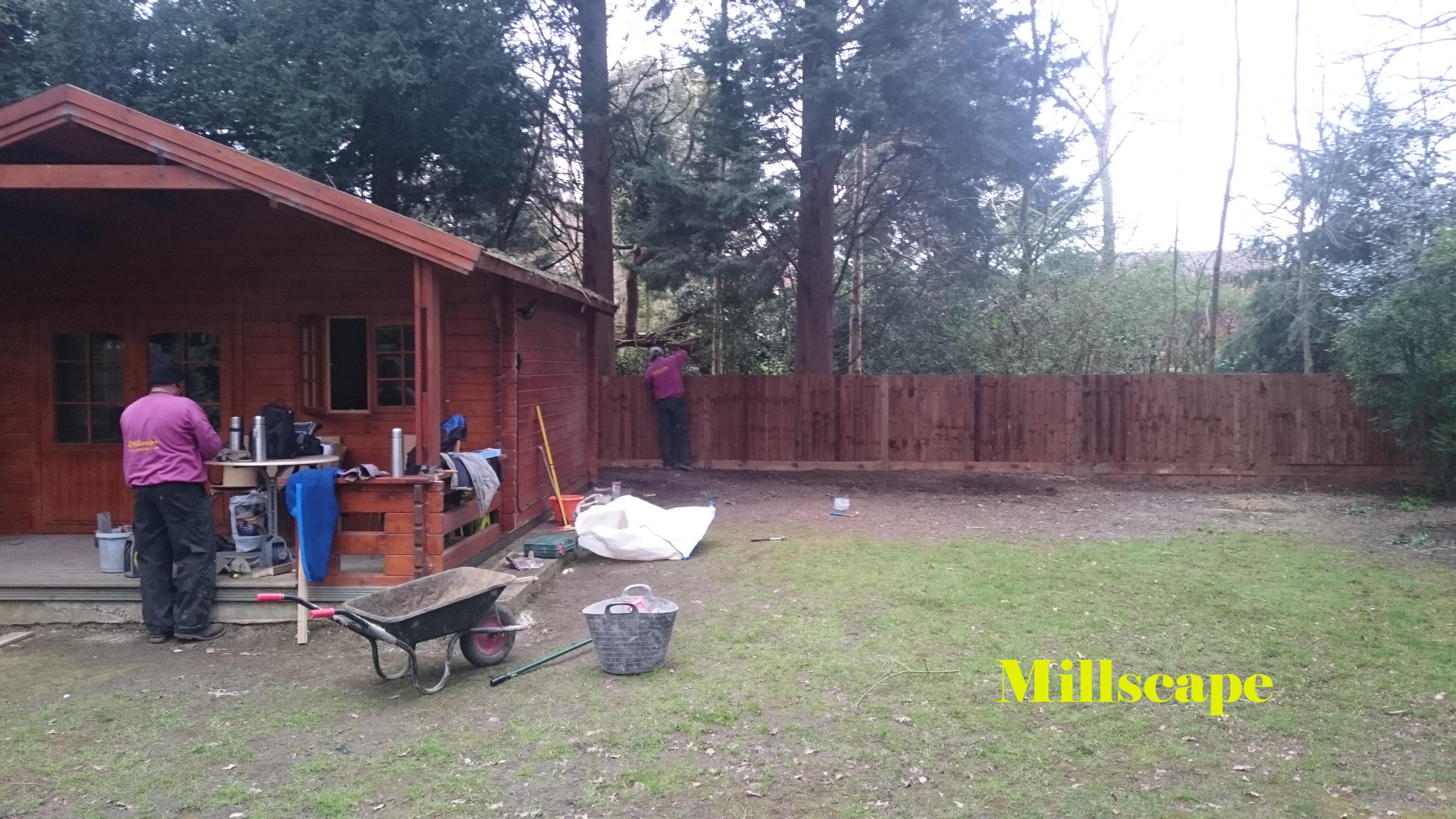 fencing landscaping barnet
