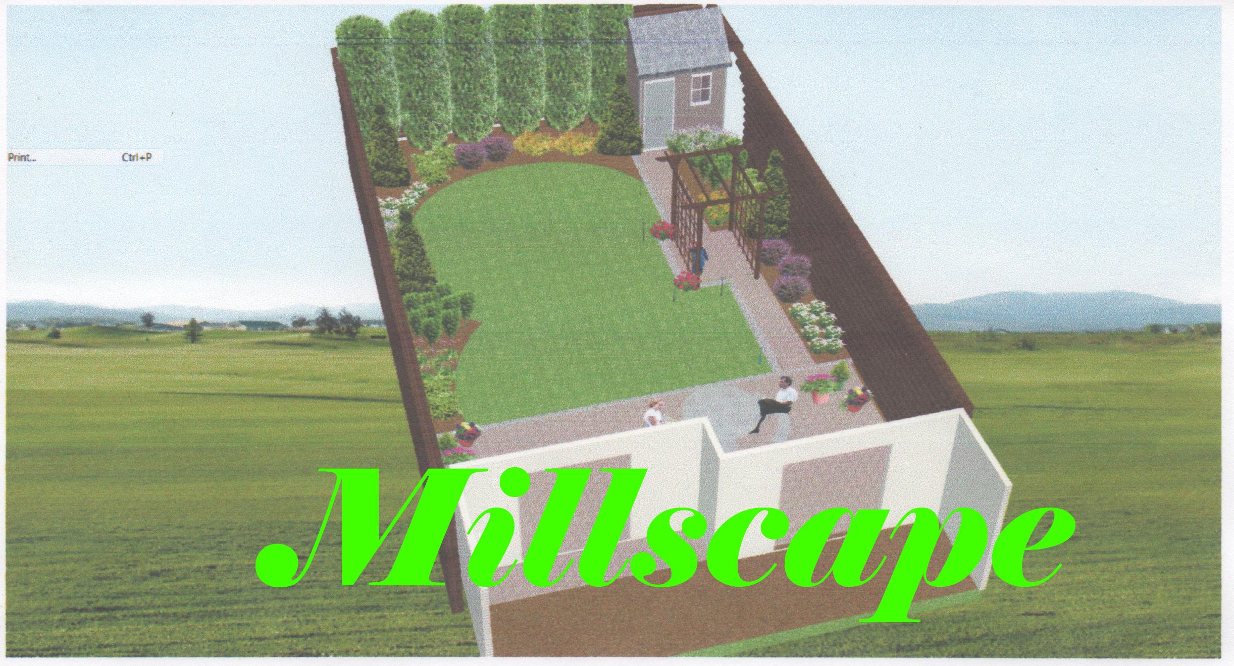 design, millscape, landscaping
