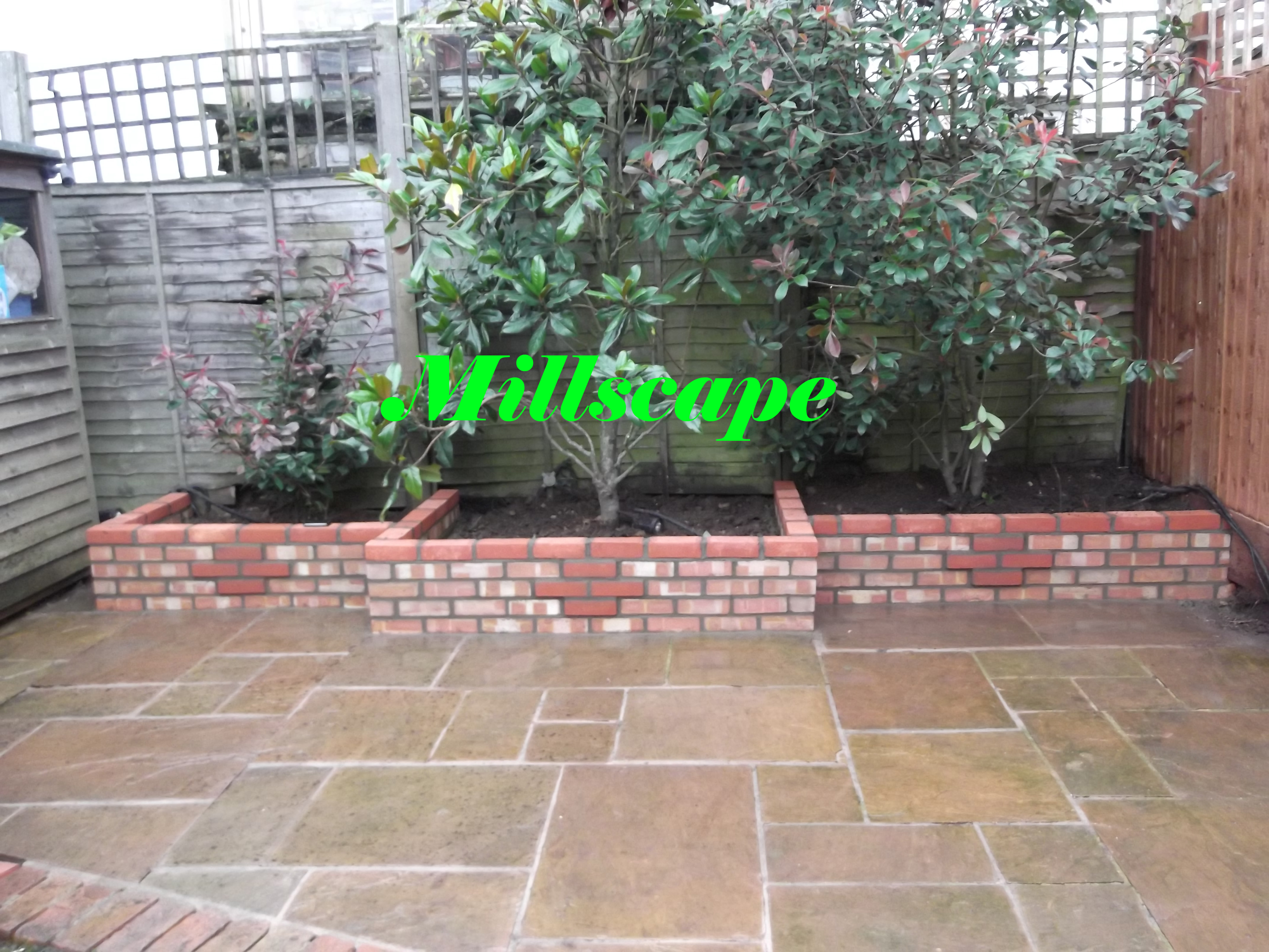walling, paving, landscaping,fencing