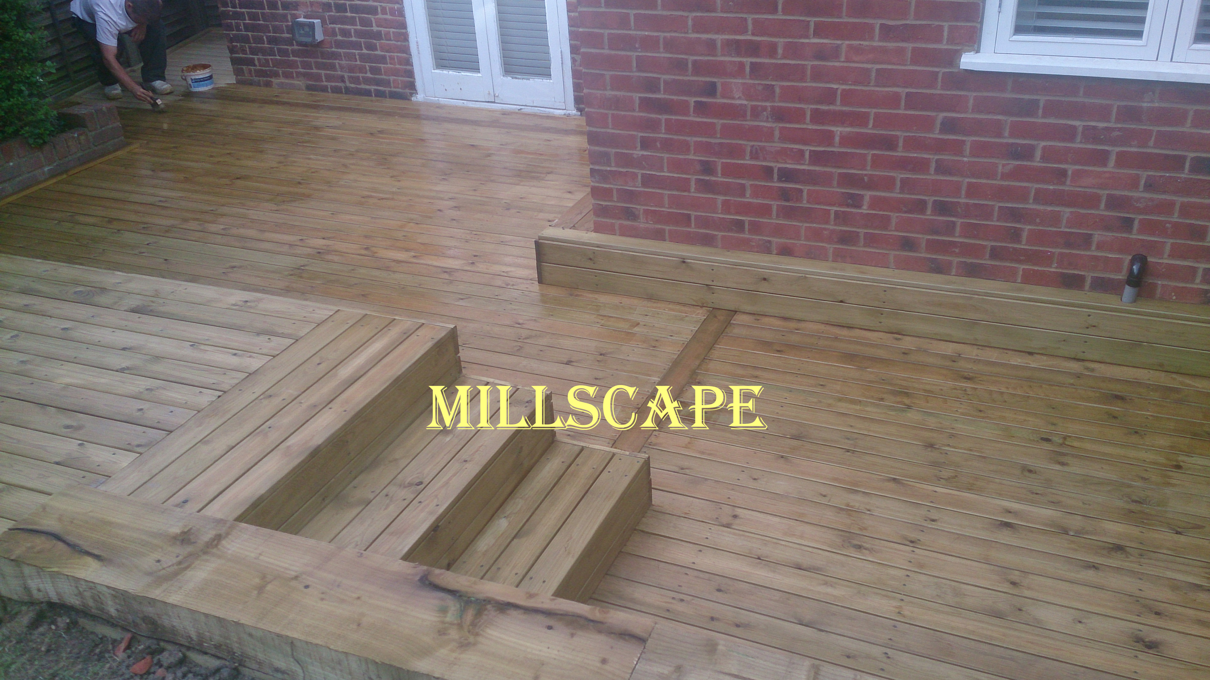 landscaping, decking, nw-london