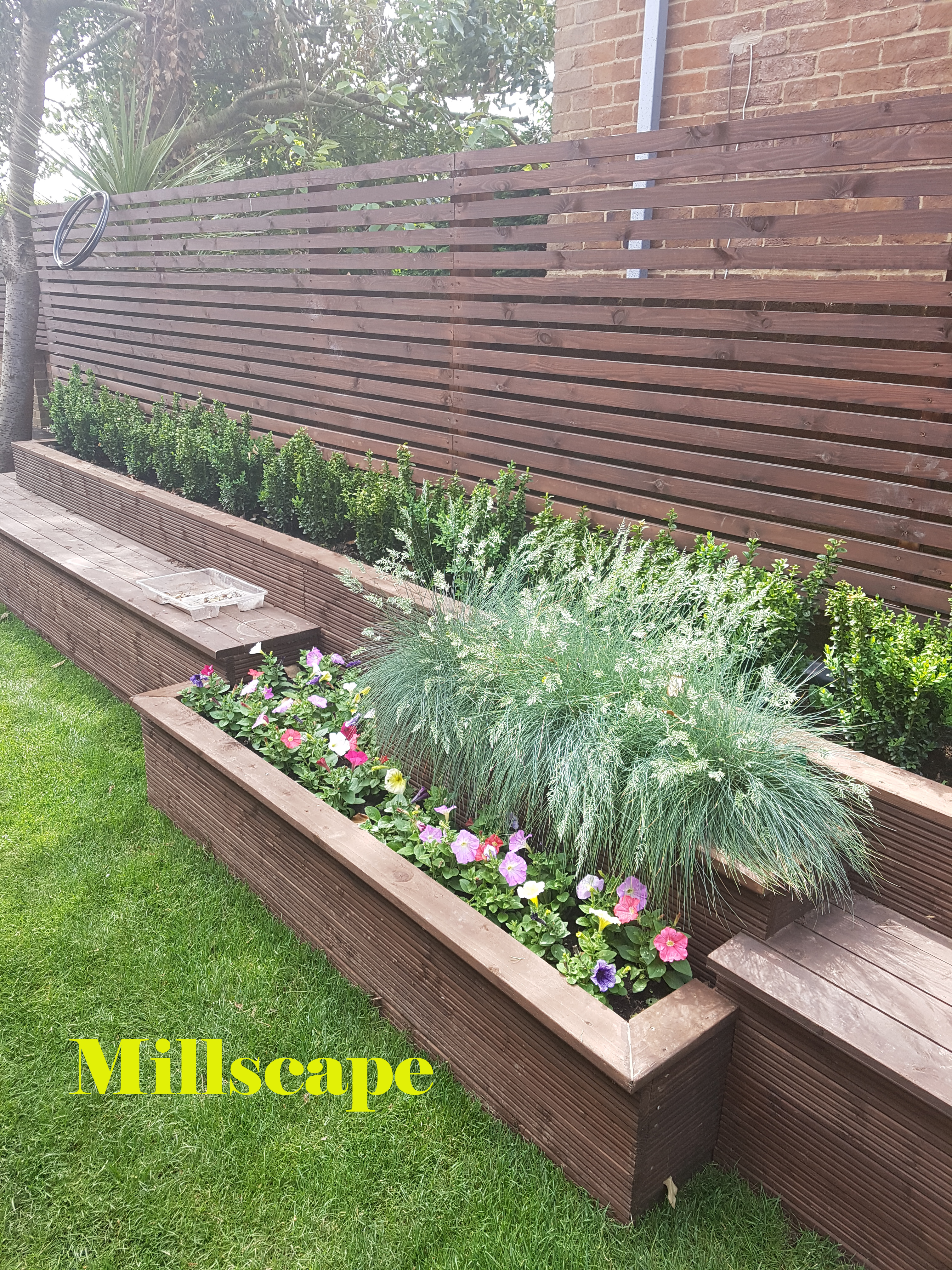 Landscaping Mill hill Design Paving