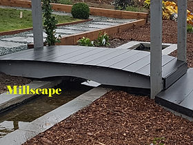 Design landscaping Nw-London Elstree Composite decking water features Millscape