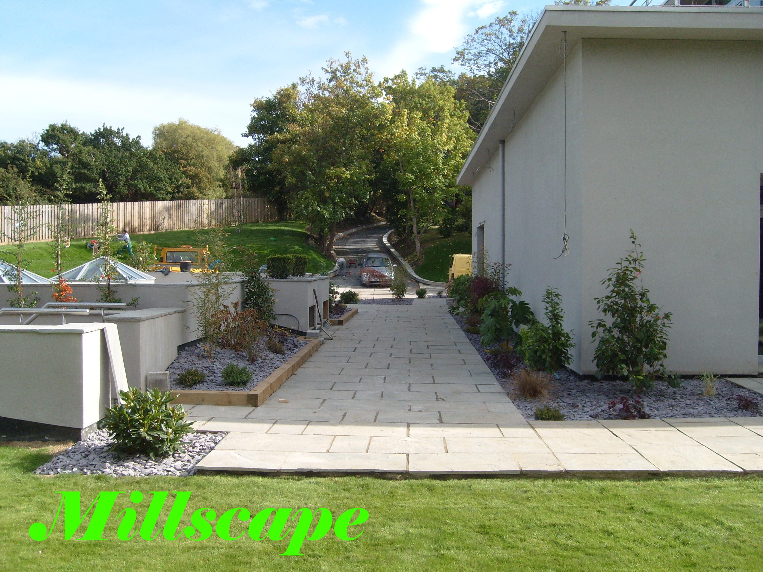 design, landscaping, planting, lawn
