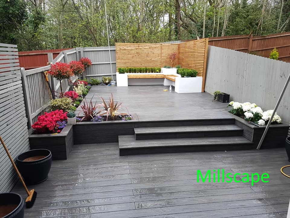Design, Landscaping, Composite deck