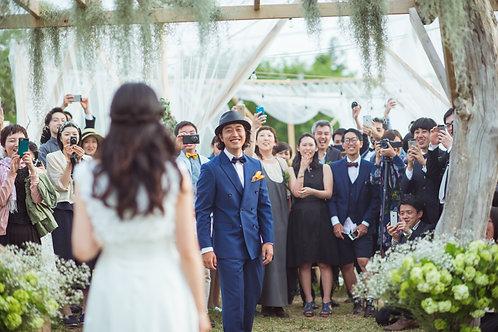 Garden Wedding × Theme clolor