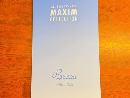 2021SS新作生地のご紹介~MAXIM COLLECTION Brezza~