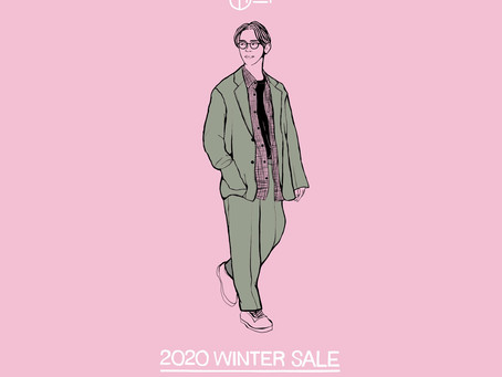 STOCK SALEのご案内〜Custom your Autumn-Winter 2020〜