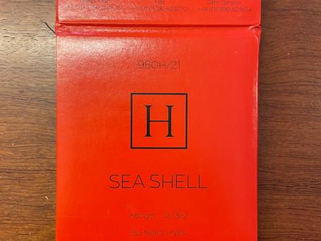 2021SS生地のご紹介①~Harrisons of Edinburgh SEA SHELL~