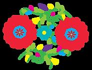 Actopan identidad grafica flor mirasol