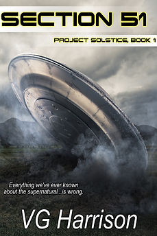 V.G. Harrison ~ Sci-Fi Author with a Touch of Paranormal