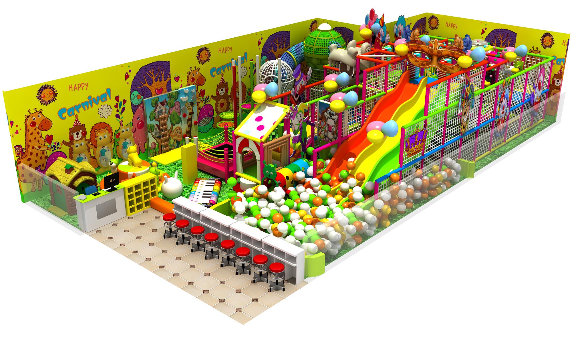 Play Area 3d Design